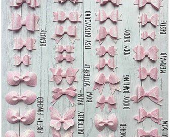 Felt Better Dolly Bow Stencils Alternative to Templates | Etsy