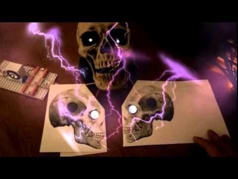 #HackHalloween Augmented Reality Skull