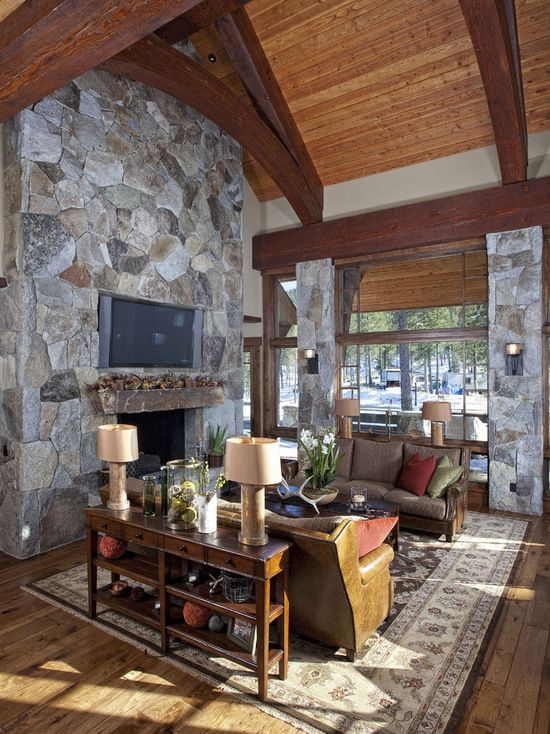 Rustic Cabin Camp Rustic House Country Style Interiors Cabin Design