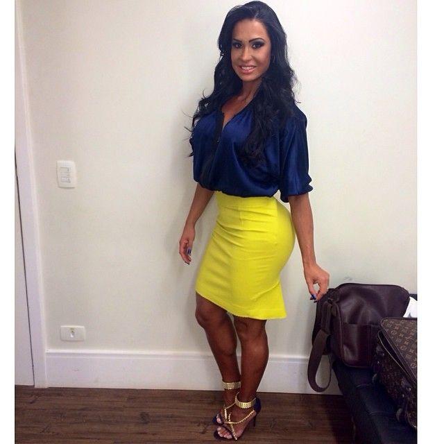 Latina In Skirt