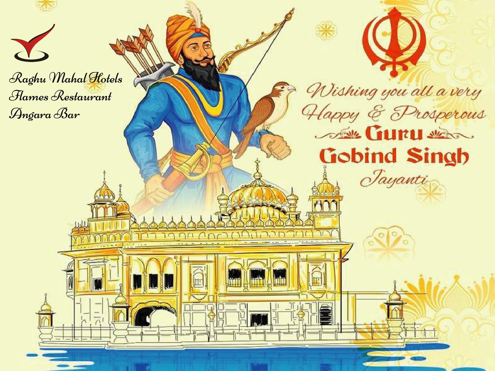 Happy Guru Gobind Singh Jayanti in 2020 Guru gobind