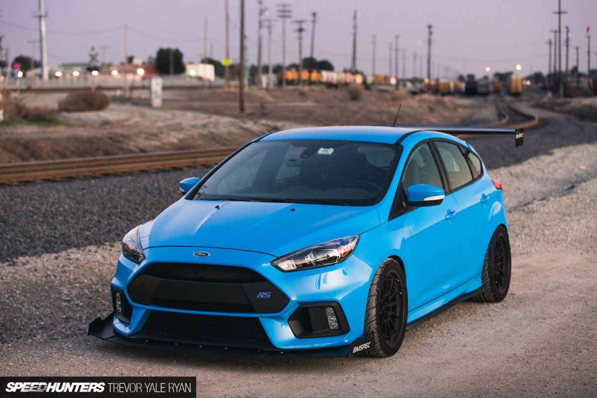 Never Good Enough Adding Aero To The Focus Rs Focus Rs Ford