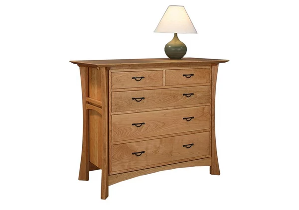 Waterfall 5Drawer Low Chest Мебель, Лофт