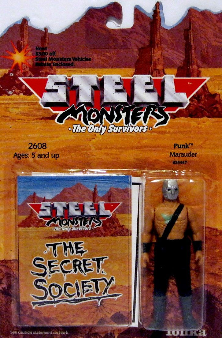 ☣ Mutant Wasteland ☣ — Steel Monsters Tonka's Mad Max Inspired 1980's Toy...
