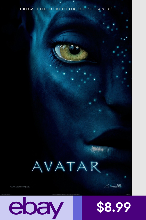Avatar Movie Silk Fabric Poster 11 X17 24 X36 Sci Fi Avatar Movie Film Movie Highest Grossing Movies