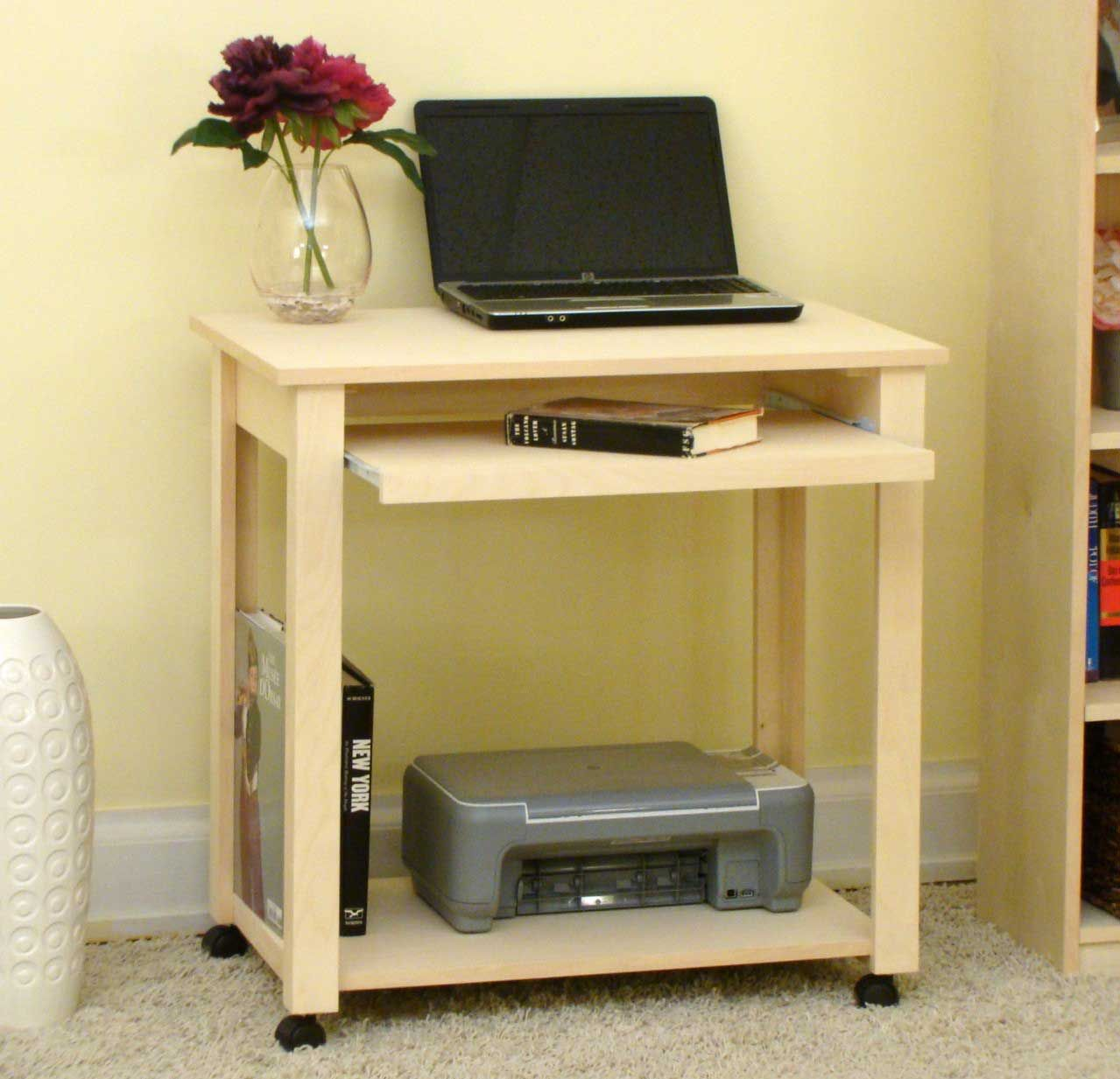 Unfinished Computer Desk Choices Office Furniture Compact