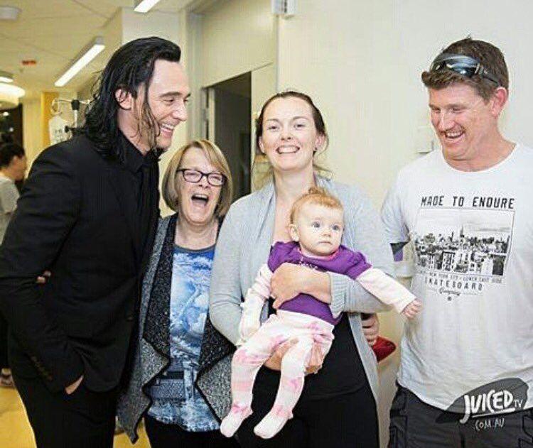 Loki at the childrens hospital