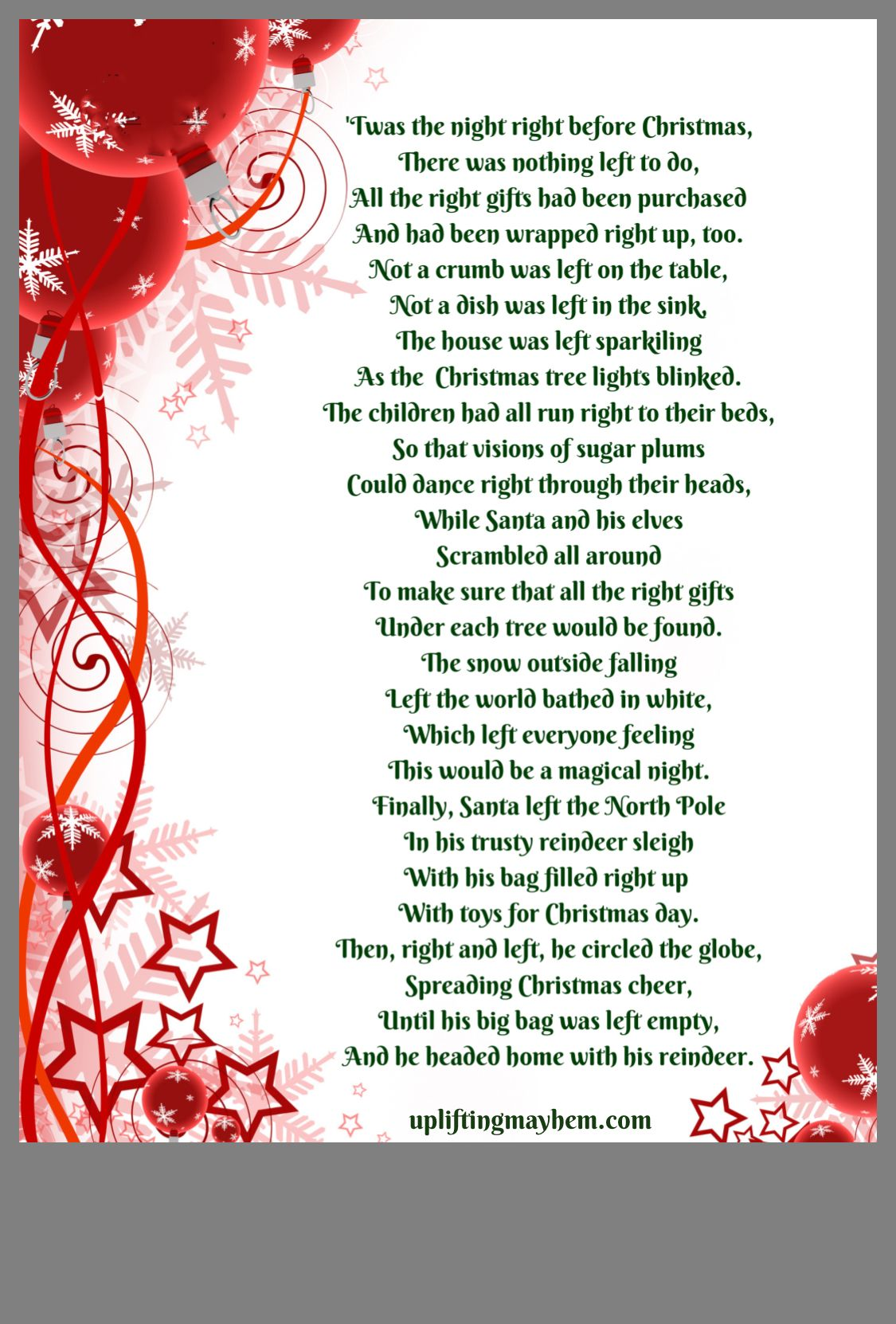 Pin by Michelle Kuznia on Christmas | Gift exchange poem ...