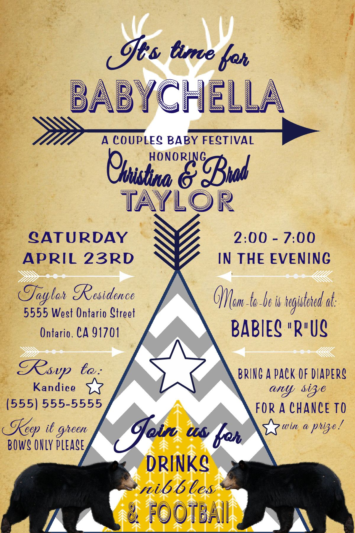 Babychella Baby Shower Invitation To Place Orders And Follow Me