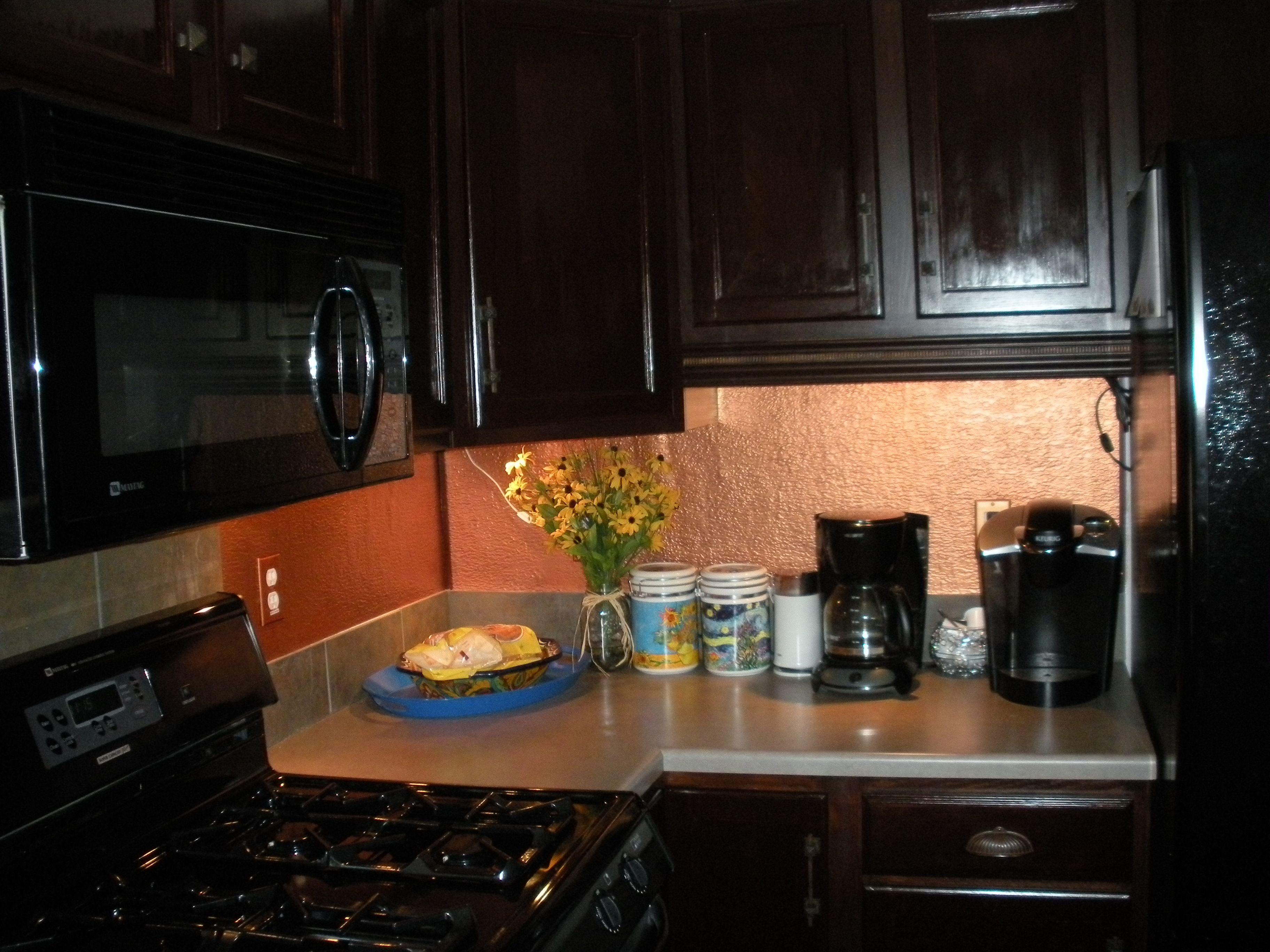 - Ceiling Tiles & 3D Wall Panels Kitchen Decor, Diy Kitchen Decor