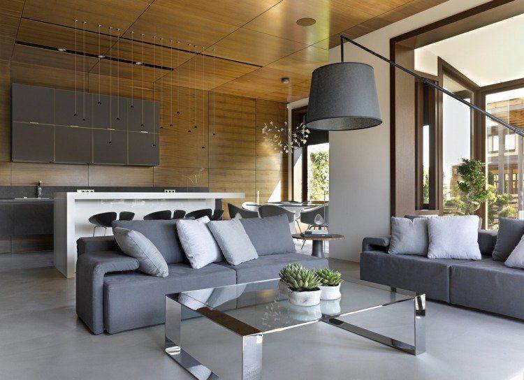 Salon moderne design en 47 idées par Alexandra Fedorova   Cactus ...
