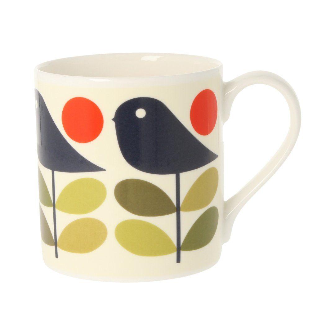 Orla Kiely Early Bird Mug - 350ml