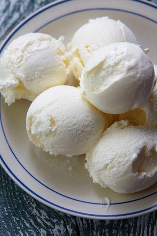 receta helado de limon light
