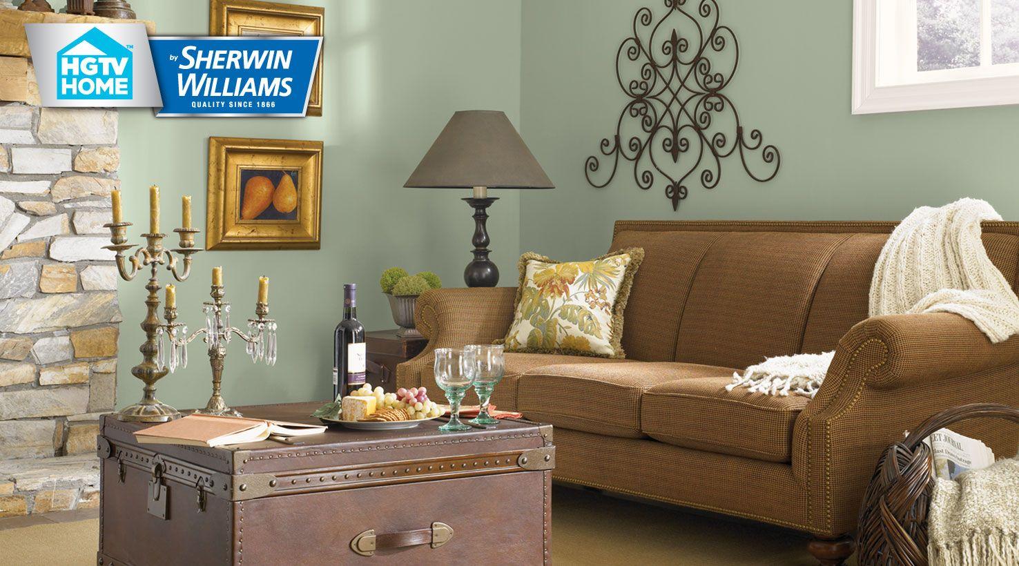 Sherwin Williams Rustic Refined Pallette. Especially Cascade Green, Copen  Blue, Creamy, Muslin