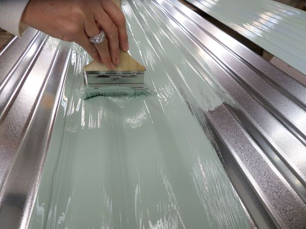 From new to old diy projects crafts pinterest for Galvanized metal sheets for crafts