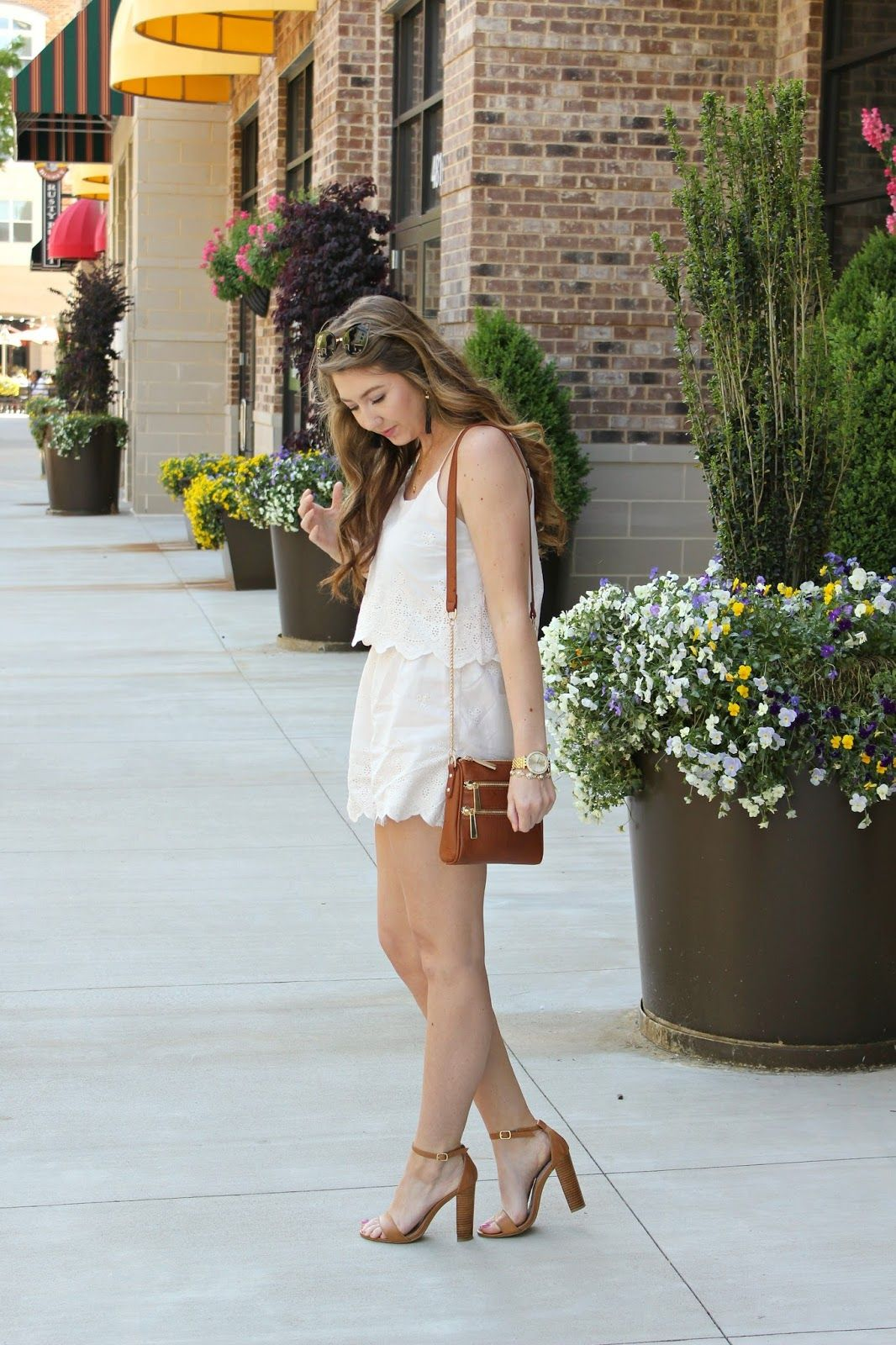 Little White Romper
