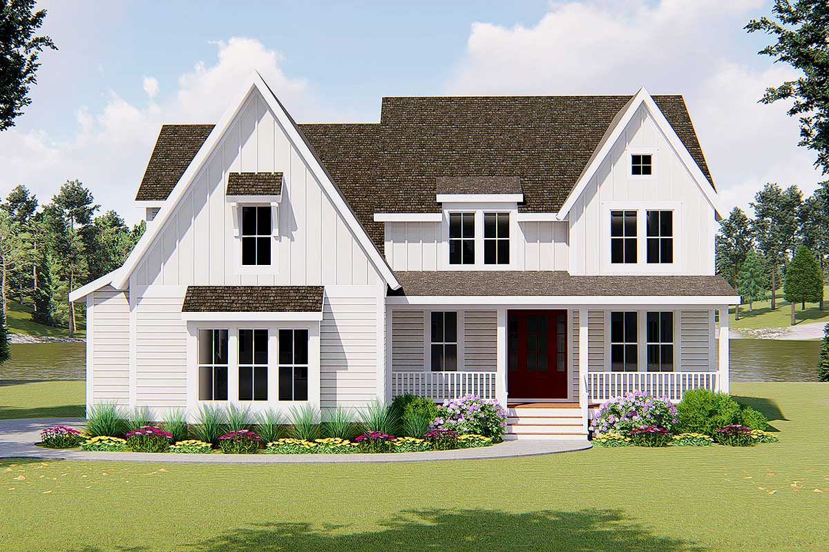 Exclusive 4-Bed Country Farmhouse Plan with Sunroom and Deck ... on home plans with large master suites, home plans with greenhouses, home plans with open floor plans, home plans with furniture, home plans with outdoor living space, home plans with motor courts, home plans with game rooms, stick built sunrooms, southern sunrooms, home plans with french doors, home plans with home, home plans with foyers, home plans with conservatories, outdoor sunrooms, home addition plans for ranch style house, home plans with additions, pre-built sunrooms, home plans with master bedroom suites, home plans with windows, cheap sunrooms,
