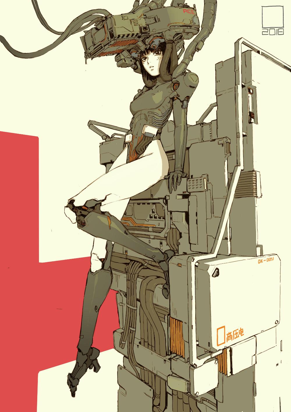 Pin by 민철 김 on 메카닉   Cyberpunk anime, Sci fi anime ...