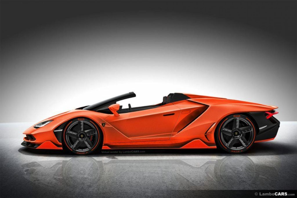 This Is What Lamborghini Centenario Roadster Should Look Like Xe