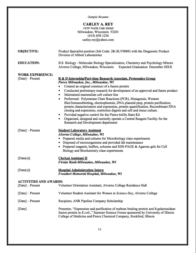 Psychological Associate Sample Resume Diagnostic Product Division Resume  Httpexampleresumecv .