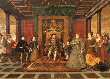 Photo of The Family of Henry VIII: an Allegory of the Tudor Succession. Lucas De Heere (1…