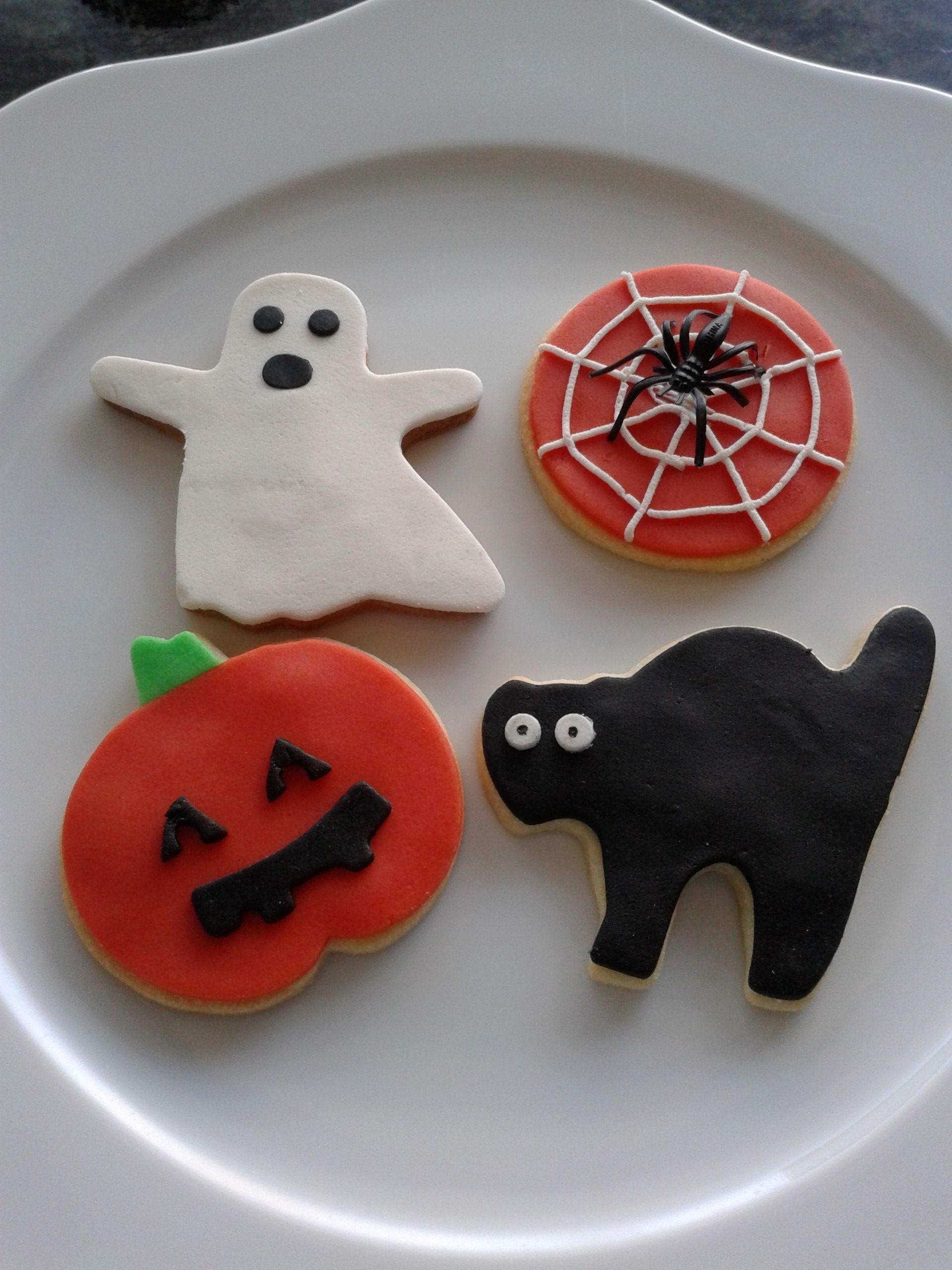 Halloween koekjes Plätzchen