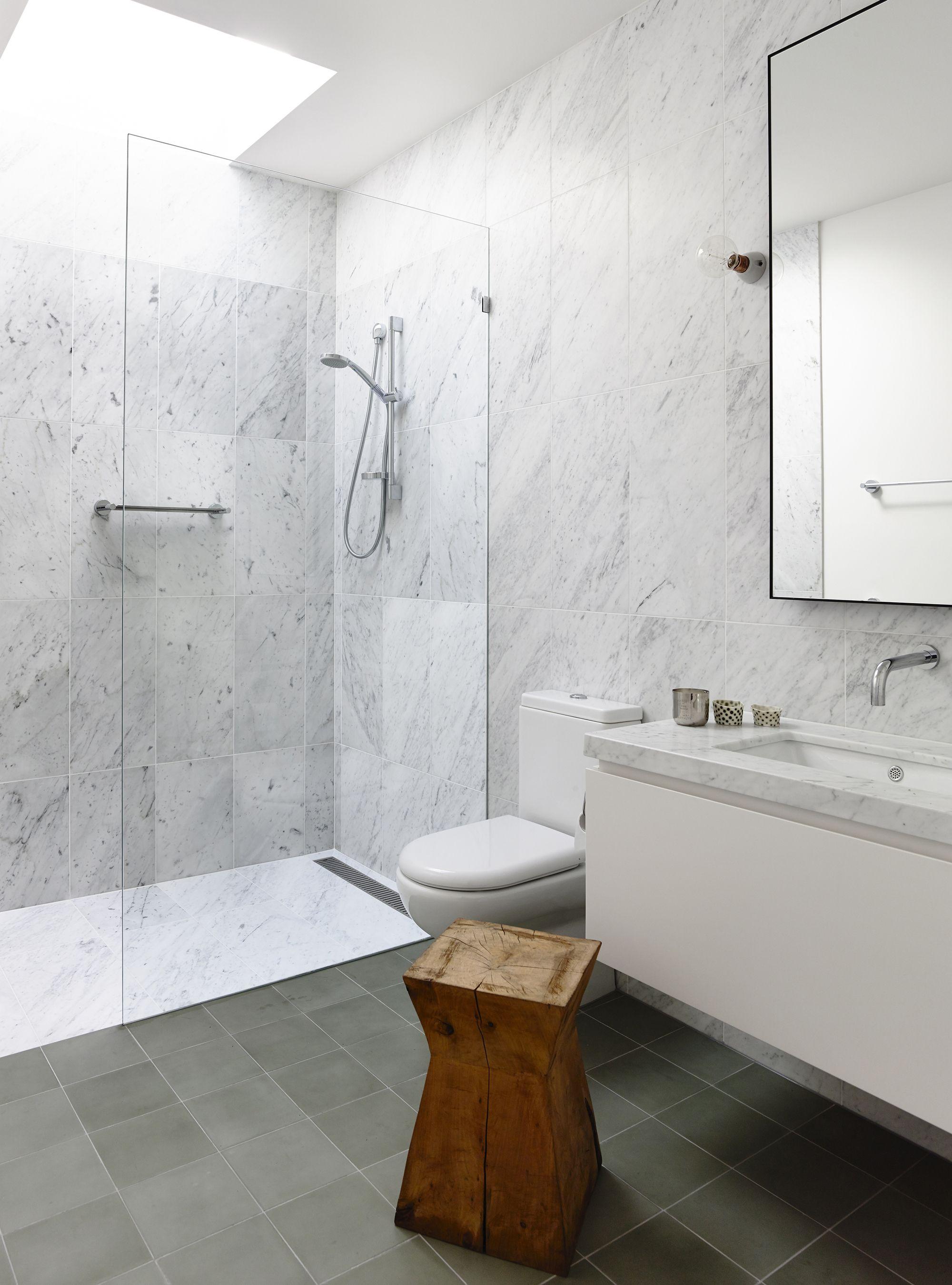 galería de vivienda fairbairn / inglis architects - 10   baños