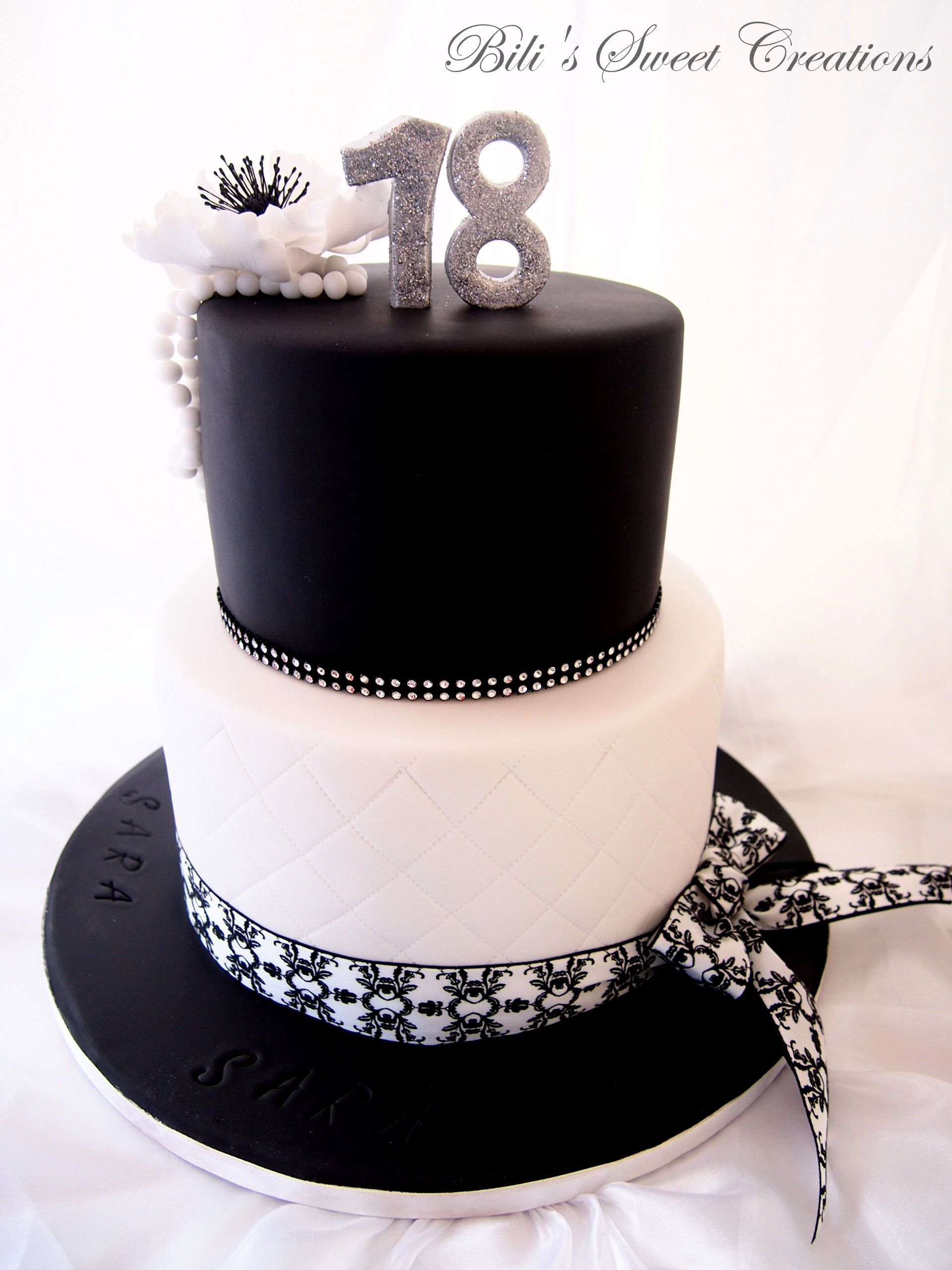 Black & White Cake :)