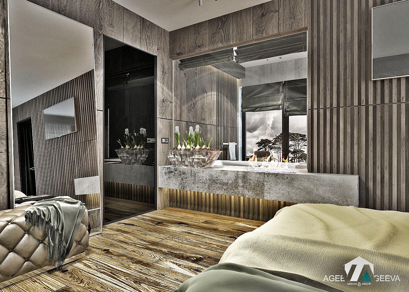 Perfect дизайн санузла в загородном доме,тропический душ, бетон, дерево, камин  Www.ageev Ageeva.com | Interior Design U0026 Contemporary Architecture |  Pinterest ...