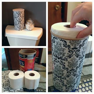 Fashionably Hide Your Toilet Paper Toilet Paper Storage Toilet