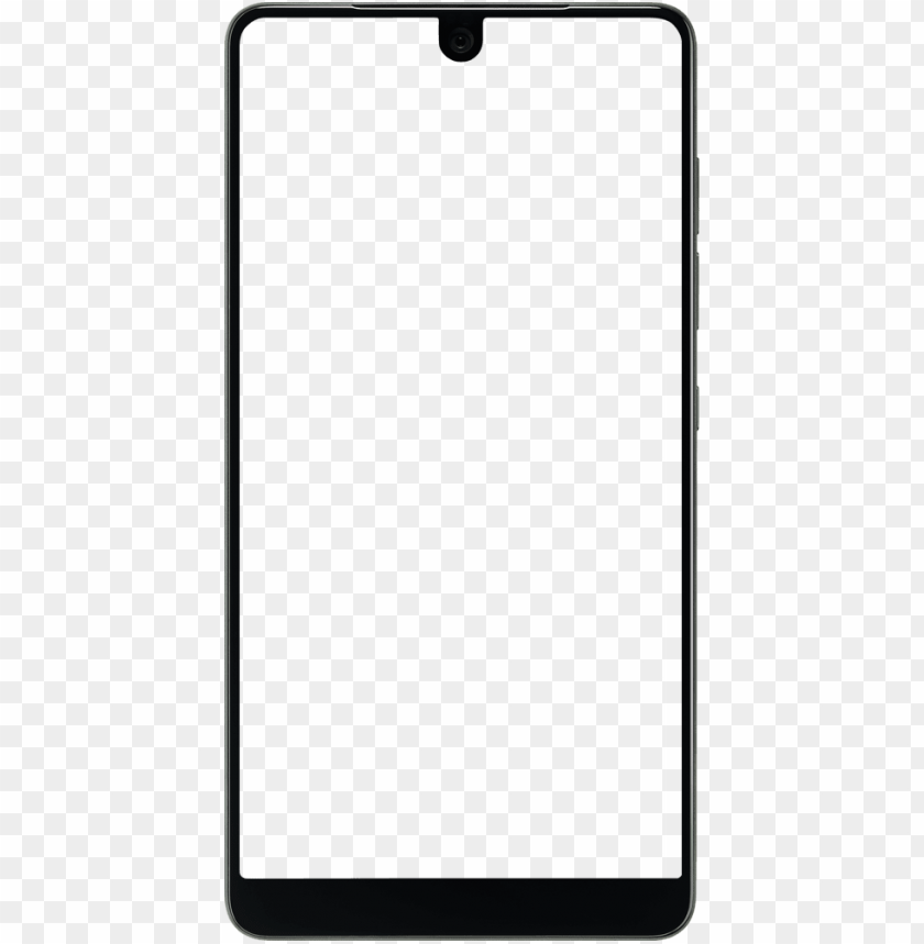 Essential Phone Free Yourself Unlocked Premium Android Android Phone Frame Png Image With Transparent Background Png Free Png Images Phone Template Png Transparent Background