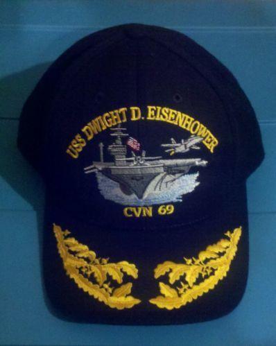 Details about Vintage USS Dwight D  Eisenhower CVN 69 Ship