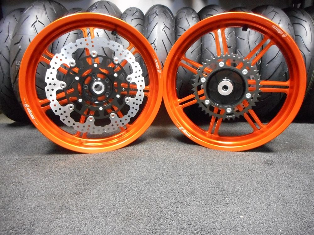 Warp 9 Tubeless Forged Wheels | SUPERMOTO WHEELS | Forged