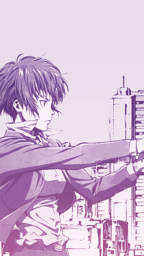 Psycho pass uploaded by Ailinchis95 on We Heart It