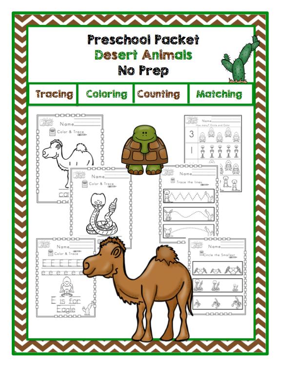 preschool printables search results for desert preschool printables by gwyn desert animals. Black Bedroom Furniture Sets. Home Design Ideas