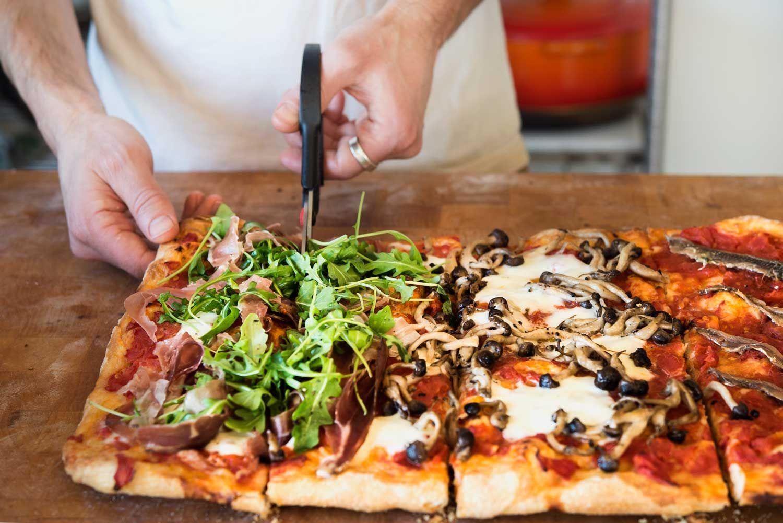 bonci pizza roman style wild greens sardines in 2020 rome food food roman fashion bonci pizza roman style wild greens