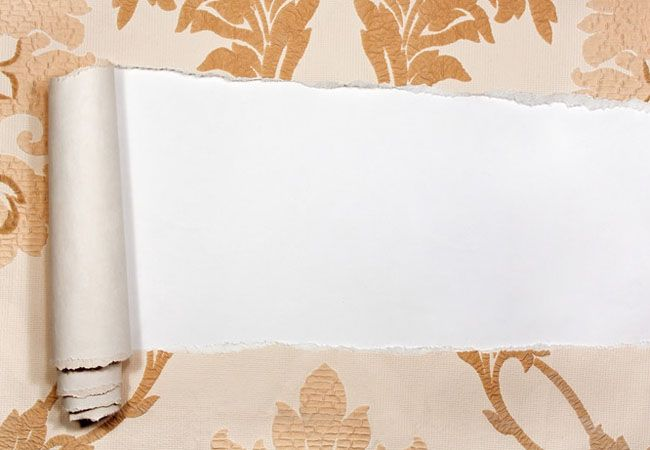 How To: Remove a Wallpaper Border   Removable wallpaper ...