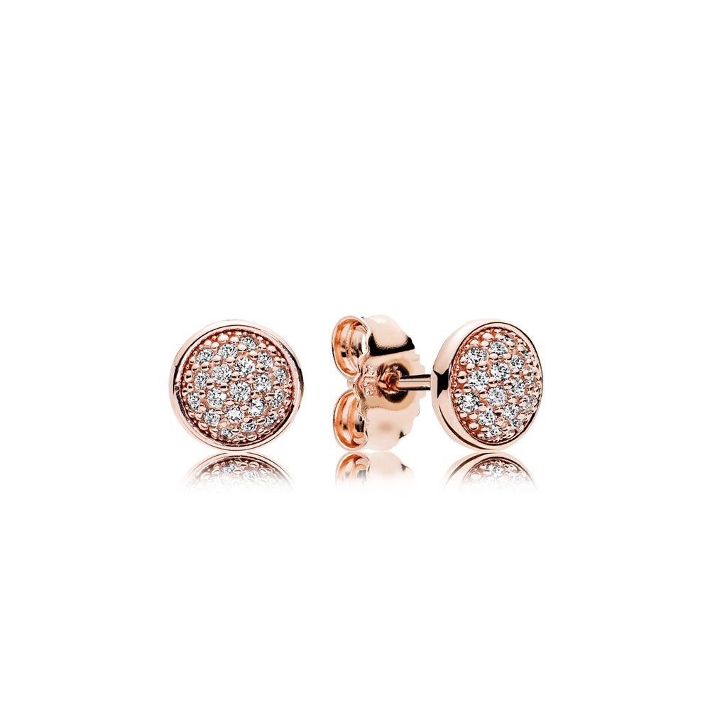 Dazzling Droplets Stud Earrings Pandora Rose Clear Cz Pandora Earrings Pandora Earrings Studs Stud Earrings