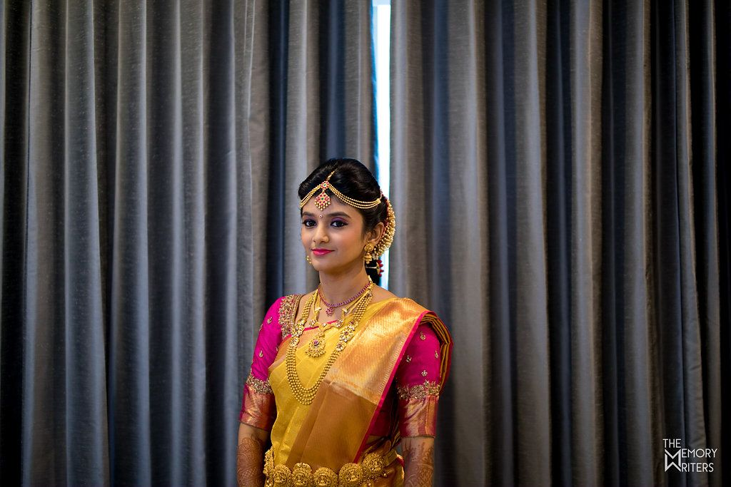 Shopzters   A Wedding Story Of A Nagercoil Ponnu And A Chennai Paiyan