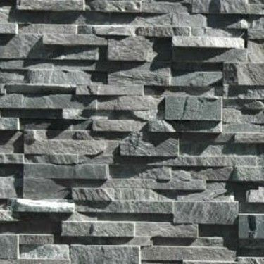 Norstone Stacked Stone Charcoal