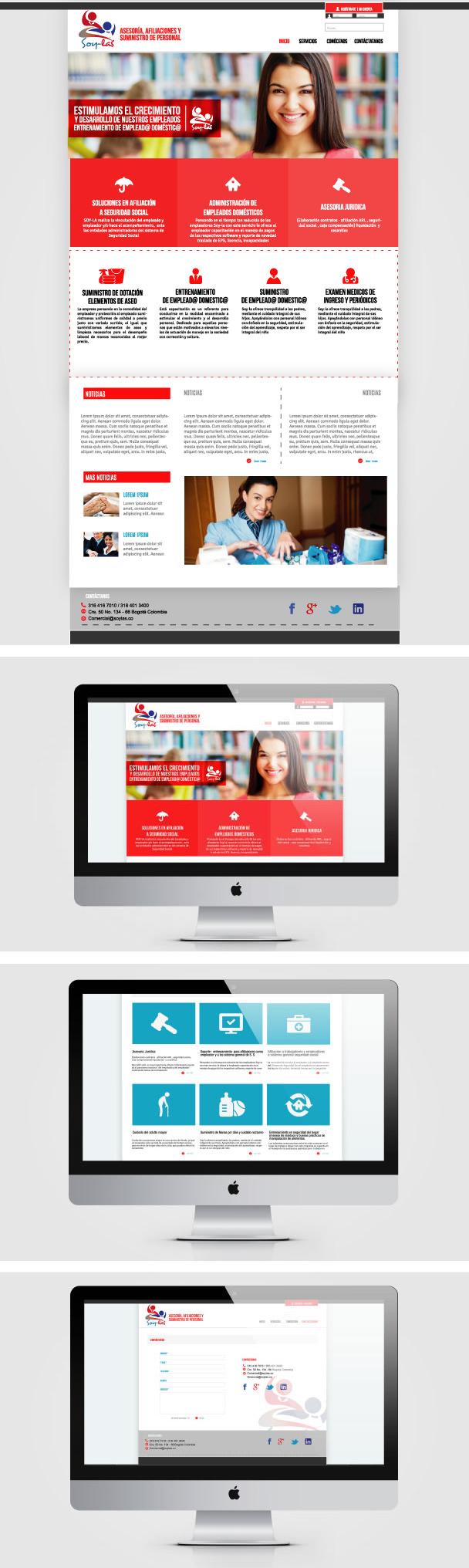 Página web Soylas