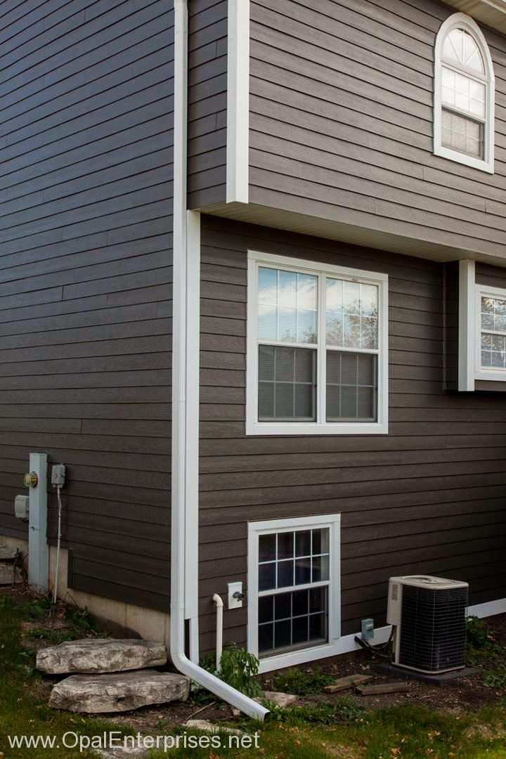 Rich Espresso James Hardie Siding House Paint Exterior