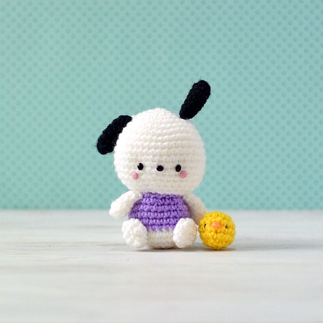 Pochacco Hello Kitty Crochet By Amigurumei Pattern Available To