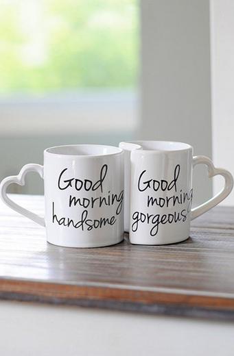 Good Morning, handsome. Good Morning, Gorgeous!