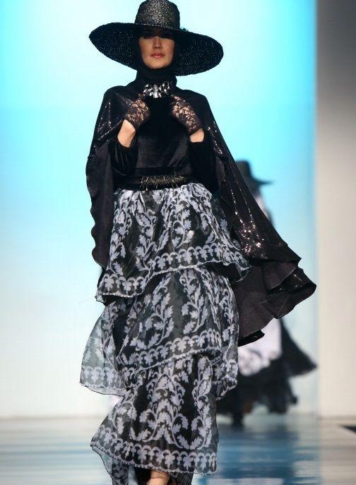 Fashion hijab casual modern dresses
