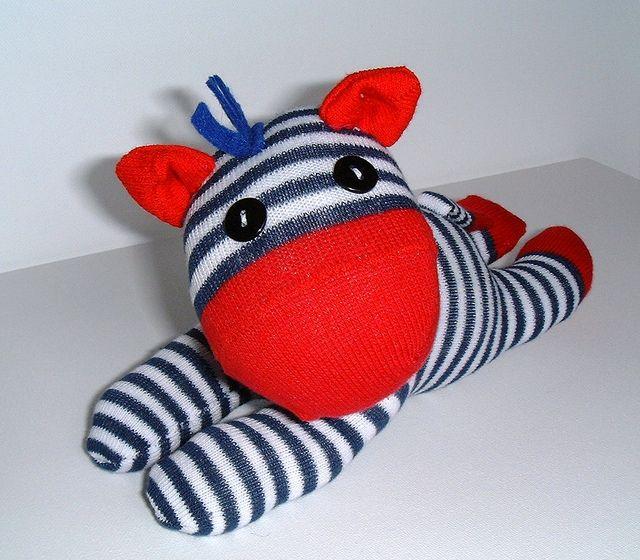 Sock Zebra | Flickr - Photo Sharing!
