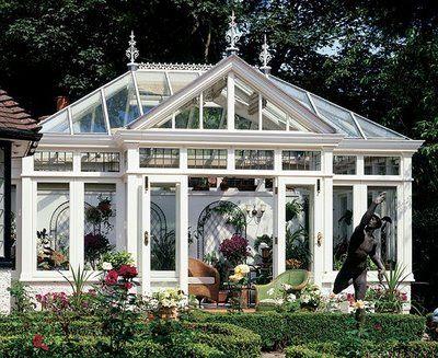 Hello Gorgeous Windows To The World Greenhouse Conservatory Winter Garden