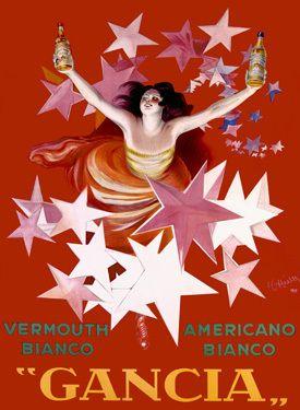 Gancia/Vermouth Bianco - Leonetto Cappiello