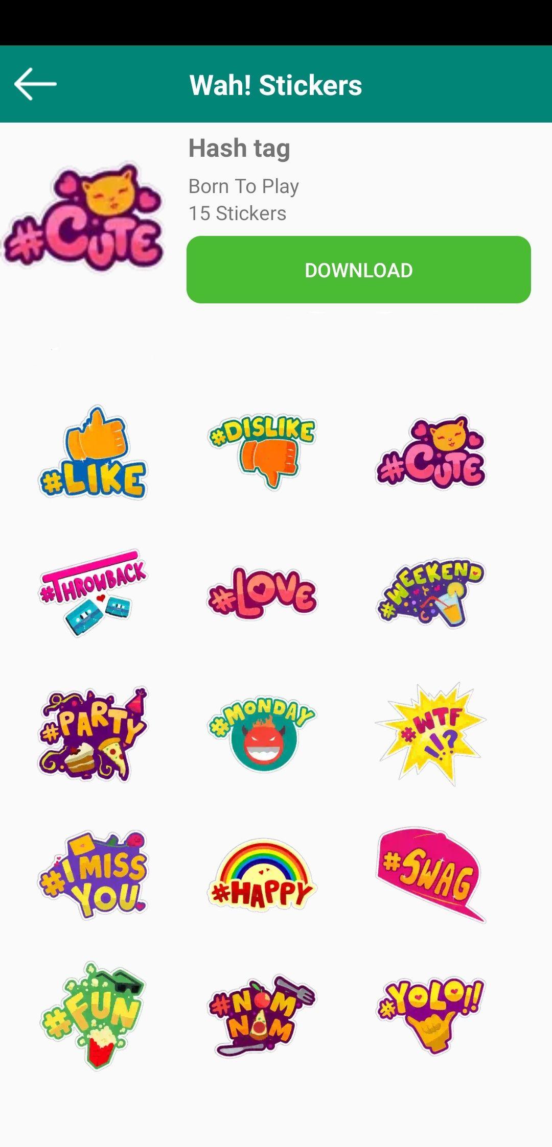 12+ WhatsApp Stickers for your WhatsApp Chat.   Whatsapp ...