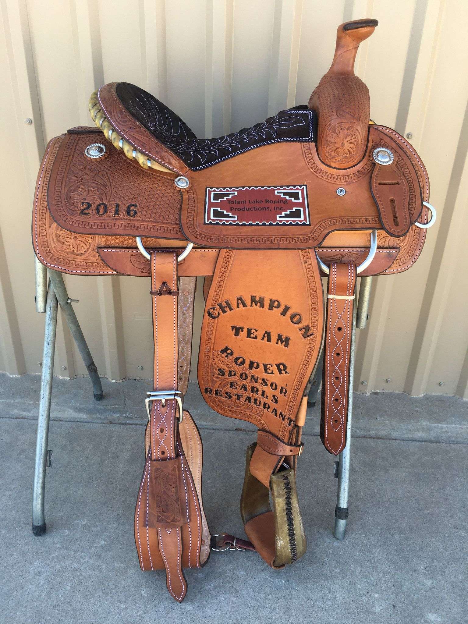 Csr 125a Corriente Team Roping Saddle Roping Saddles Team Roping Saddle